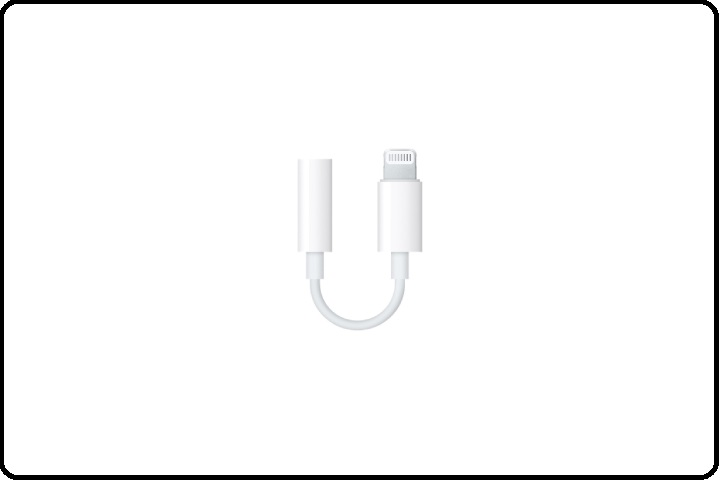 Apple Lightning to 3.5mm apple Headphones Adapter