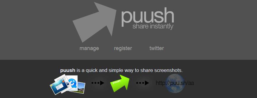 Puush Easily Take Screenshots