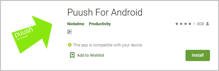 Puush For Android App
