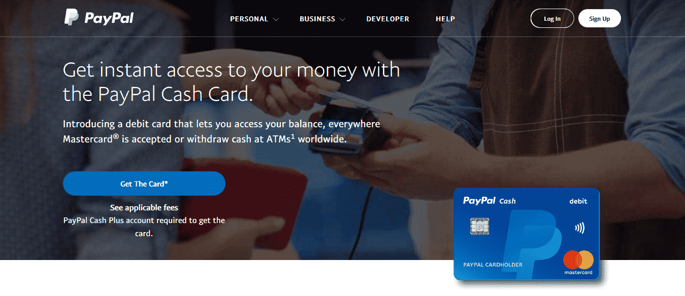What is a PayPal Cash Card
