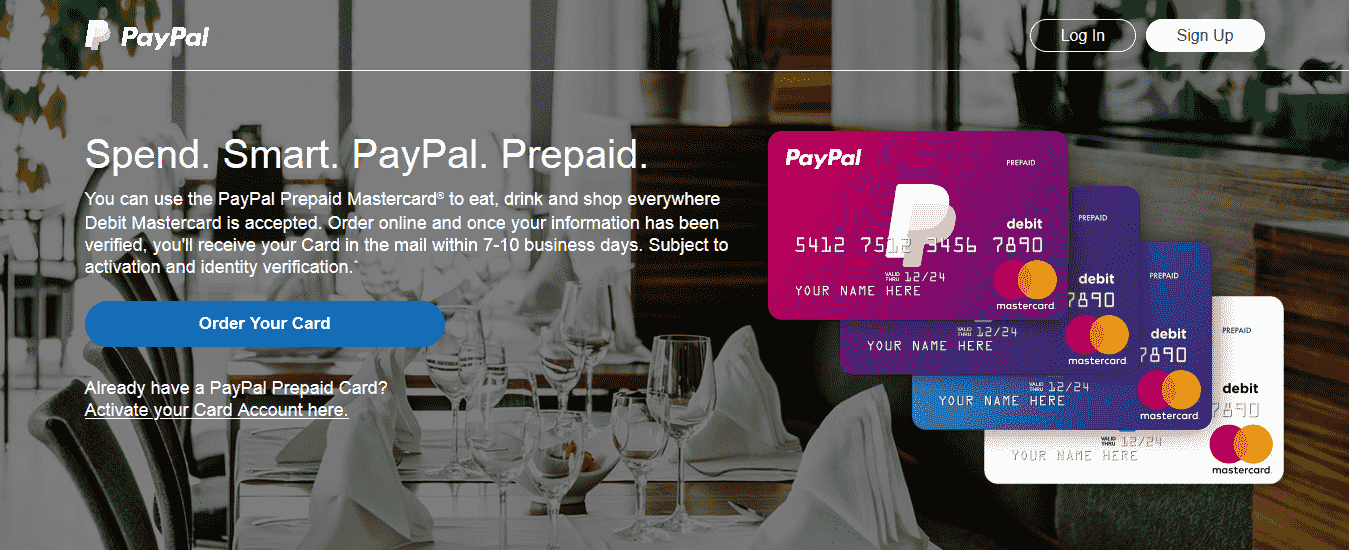 What is a PayPal Prepaid Mastercard