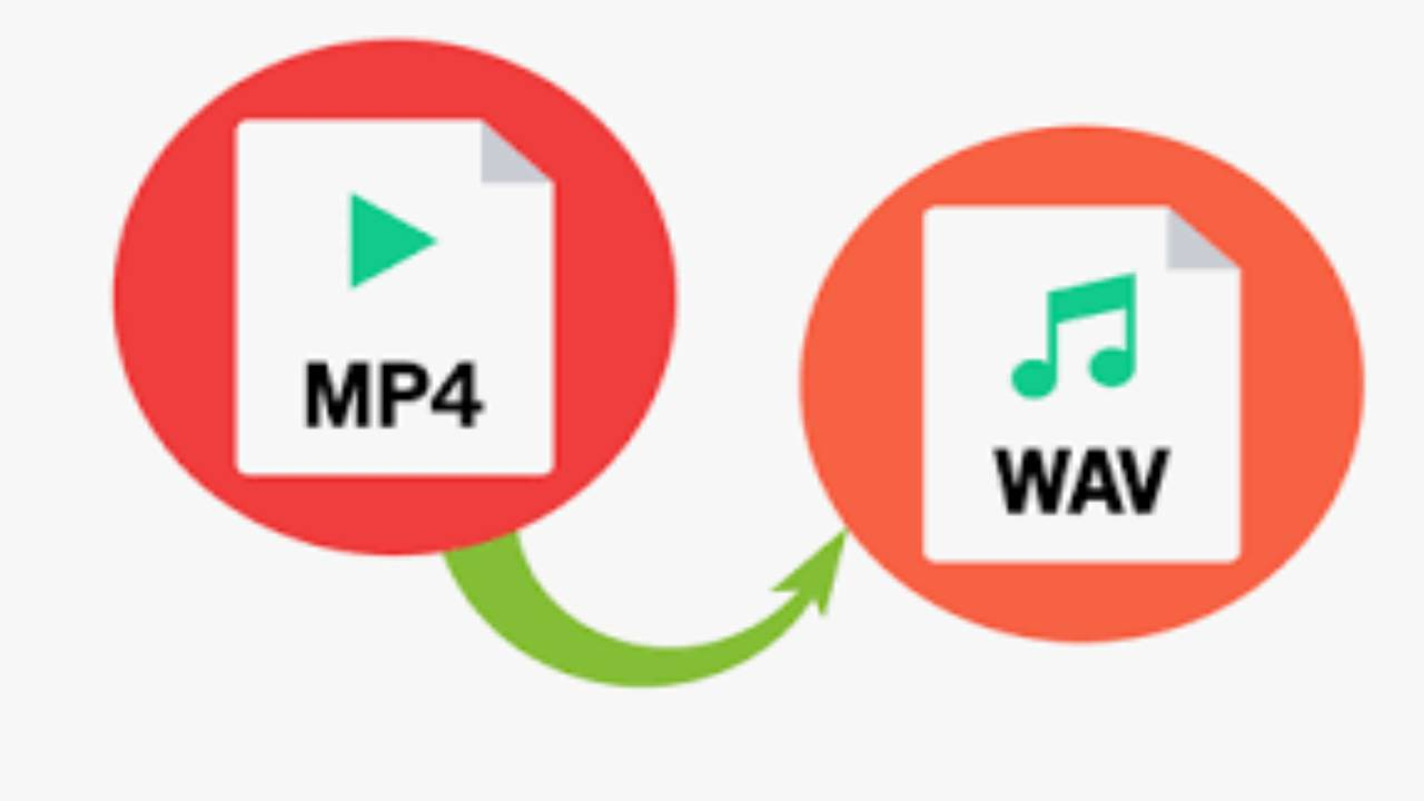 convert mp4 to wav