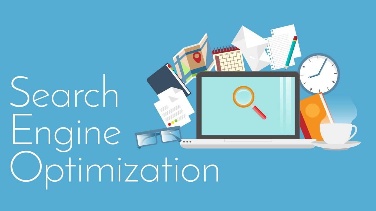 Websites and Search engines Get results from SEO