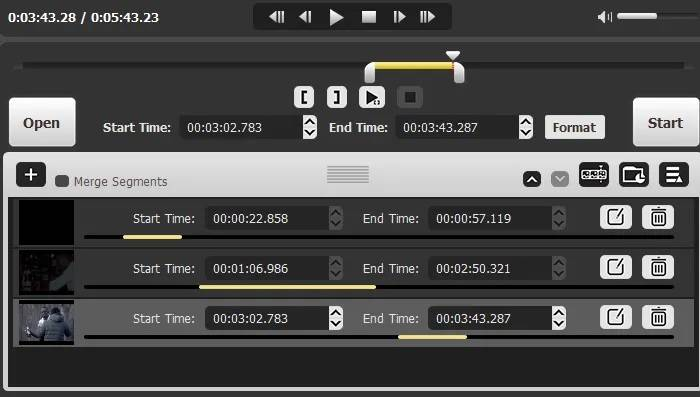Trim the video with the help of video cutter software
