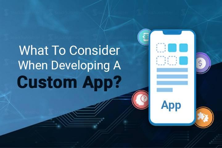 difference between an app and a website custom app development