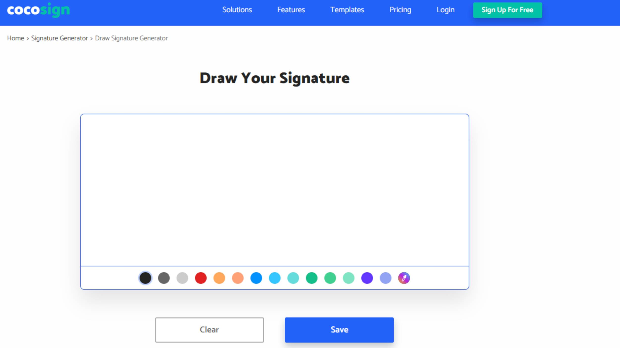 Draw your Signature with this app