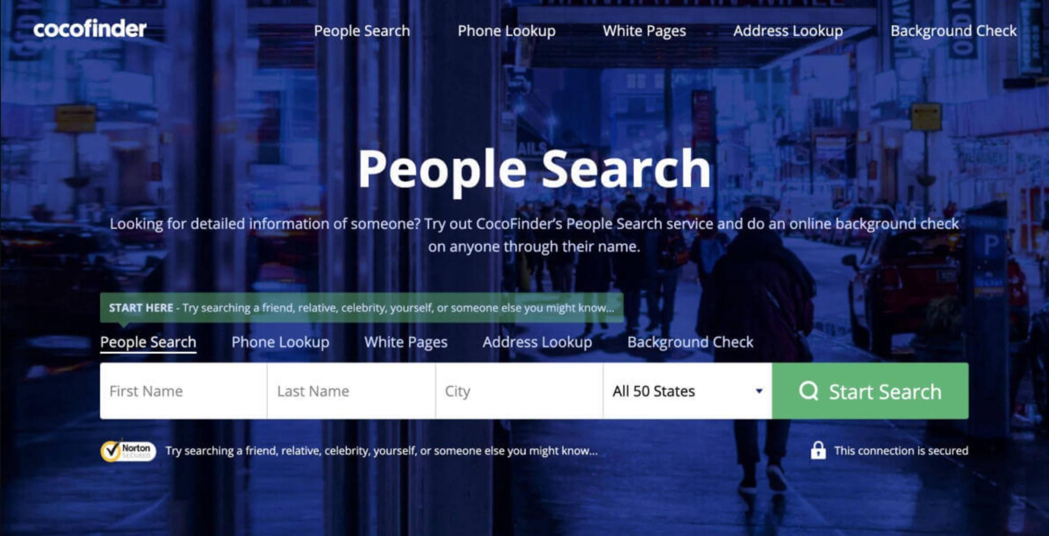 Public Information Finder